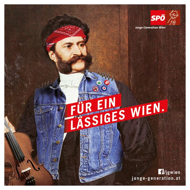 Für ein lässiges Wien!